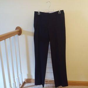 Liz Claiborne Navy Blue Straight Leg Pants